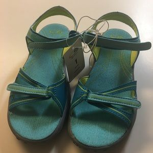 🌴Champion🌴Size 1 Sandals Turquoise